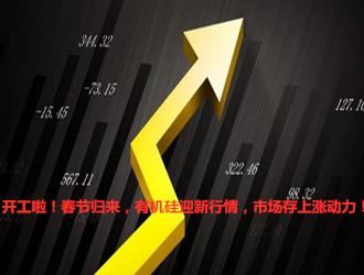 开工啦!春节归来,有机硅迎新行情,市场存上涨动力!